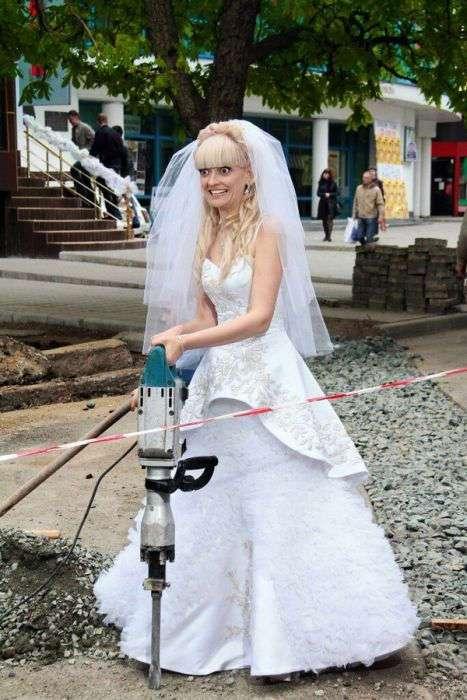 Смешные фото со свадеб (34 фото)