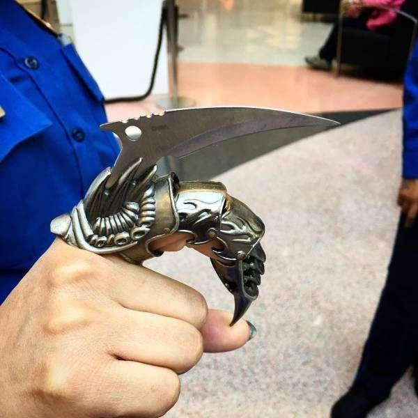 Оружие, конфискованное у пассажиров самолетов (20 фото)