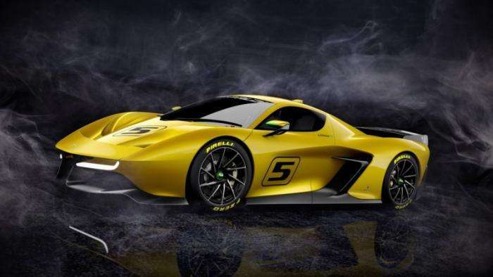 Фиттипальди и Pininfarina создали трековый суперкар (36 фото)