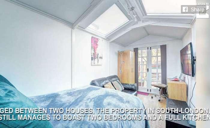 Домик шириною в 2,5 метра продается за баснословную сумму. Вы поймете, почему, когда увидите его изнутри