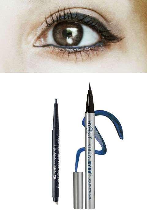 Забудьте о черном карандаше! Вот как правильно выбрать цвет подводки в зависимости от цвета глаз