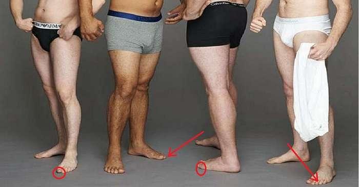 Вот как узнать о мужчине все по одной его части тела