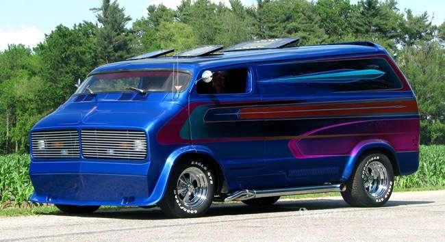 Boogie Van - безумный фургоны 70-х (9 фото)