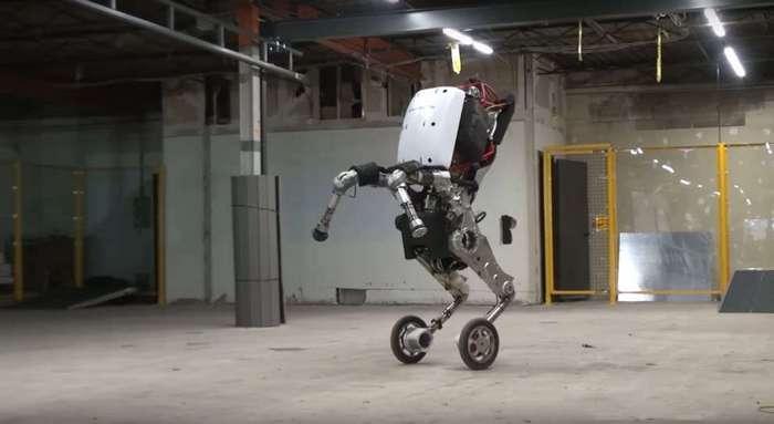 Handle — двухметровый робот от Boston Dynamics