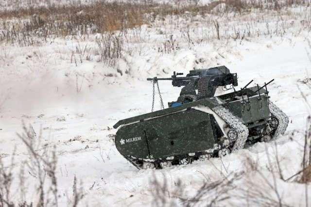 Как прошли первые испытания военного робота THeMIS ADDER