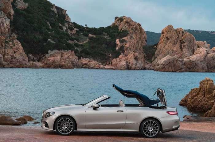 Новый роскошный кабриолет Mercedes класса E