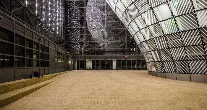 Экстерьер и интерьер брюссельской штаб-квартиры ЕС и Совета Европейского союза