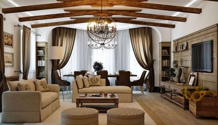 Секреты создания уюта в гостиной