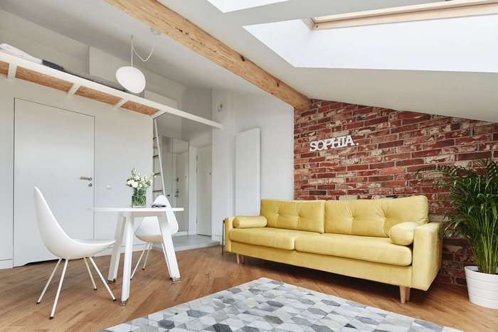 Интерьер квартиры на 19 кв.метрах