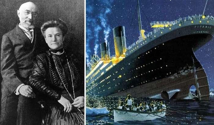 Ида и Исидор Штраус: реальная история любви пассажиров «Титаника»