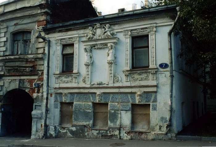 «Дом с кариатидами» в Москве после реставрации
