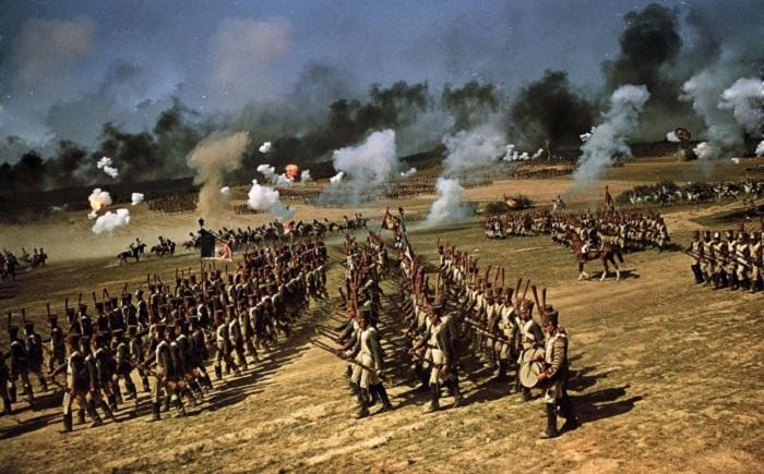 Как проходили съемки фильма -Война и мир-