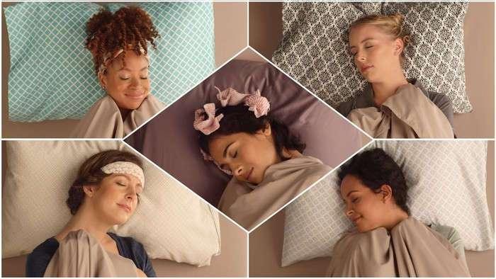 Укладки, которые делаются во время сна