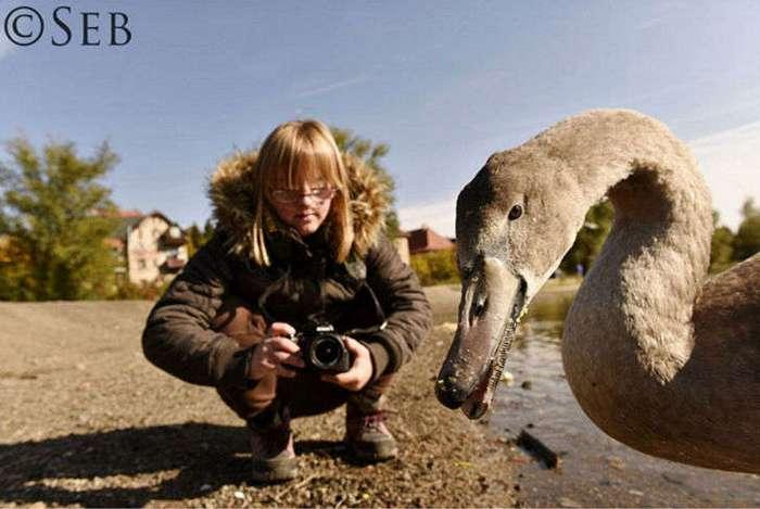 Мир глазами фотографа с синдромом Дауна