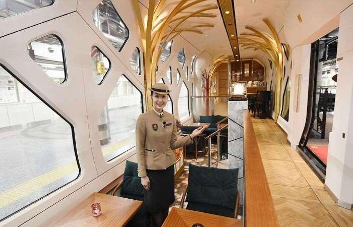 Shiki-Shima &8211; уникальный японский поезд класса люкс