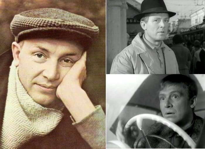 Легенда советского кино Иннокентий Смоктуновский