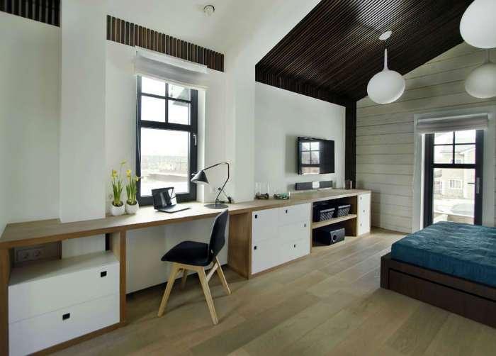 Работа в удовольствие: 20 современных домашних офисов, которые поражают своей изысканностью и стилем