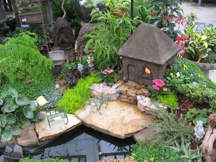 20 нескучных идей по использованию природного камня в оформлении садового участка