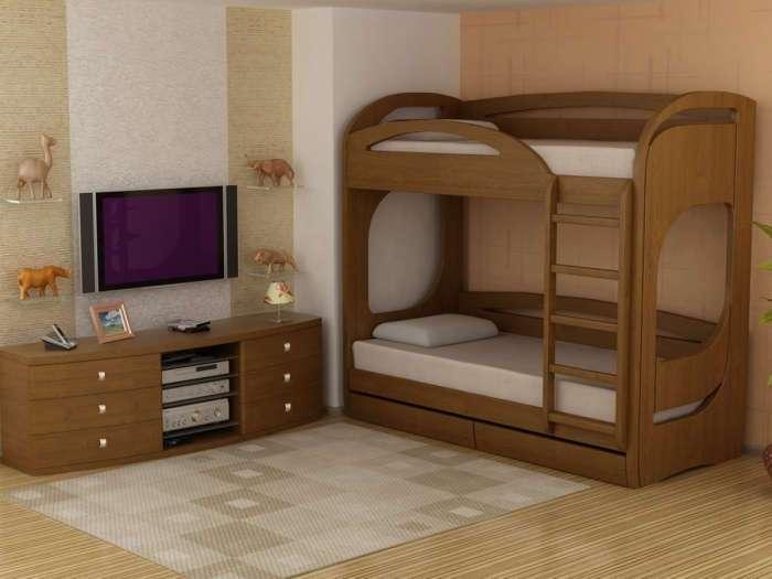 18 оригинальных и функциональных двухъярусных кроватей, которые впишутся в любой интерьер