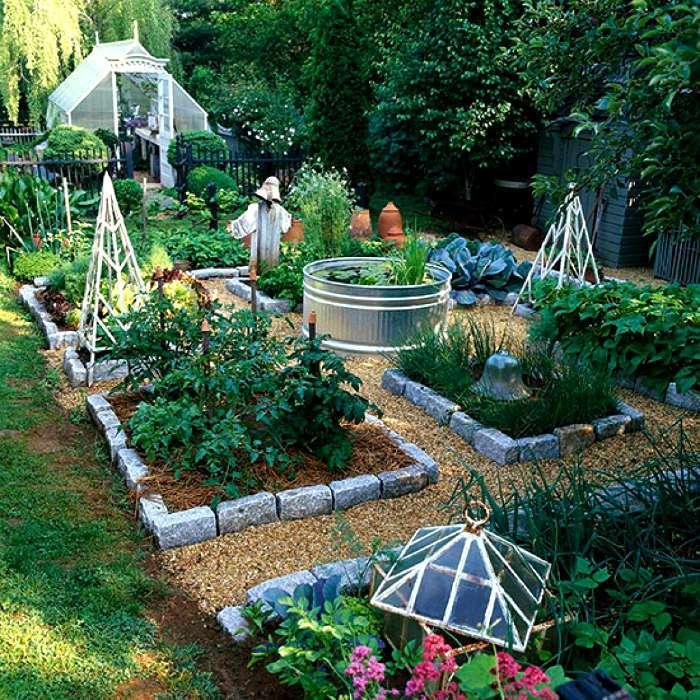 Ландшафт для сада и огорода своими руками 2