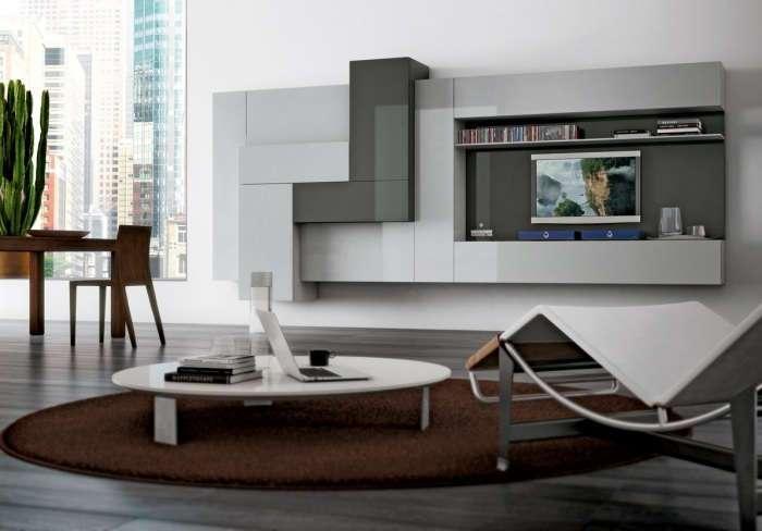 20 ультрасовременных гостиных с максимально удобным оформлением зоны для просмотра телевизора