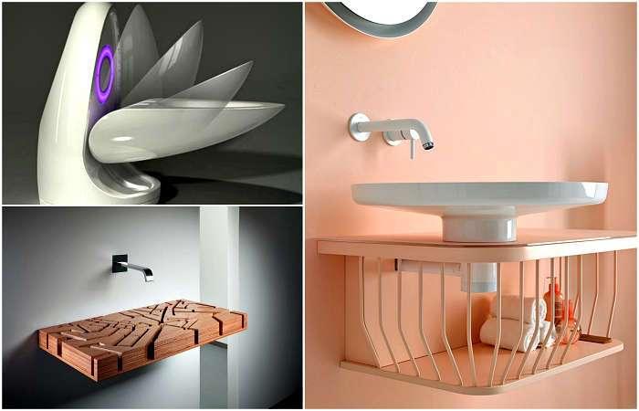 19 примеров оригинальной сантехники, которая превратит санузел в самое стильное место в доме
