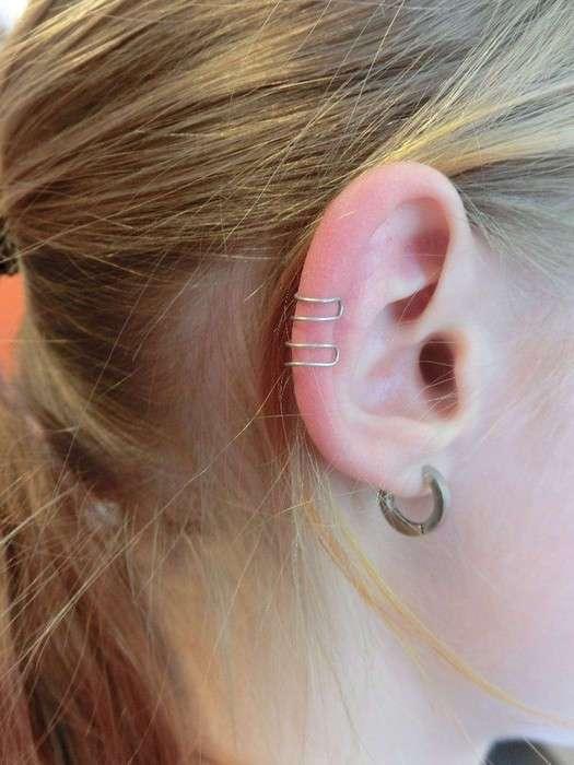 Как сделать модные серёжки-каффы, для которых даже не придётся прокалывать уши