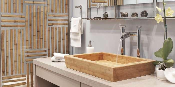 20 потрясающих деревянных раковин для оригинального интерьера ванной комнаты