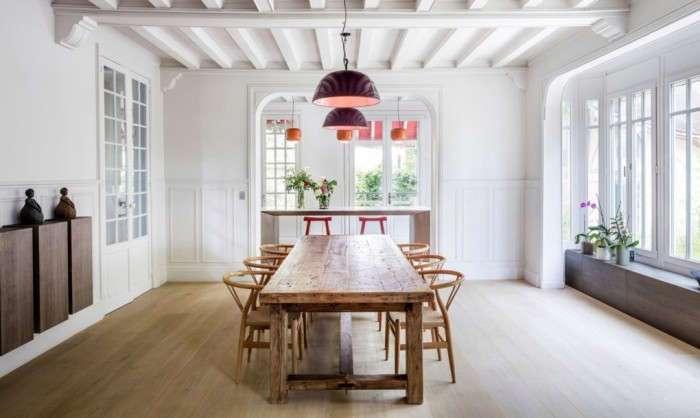 Восстановленный дом XIX века: эффектный и снаружи, и внутри