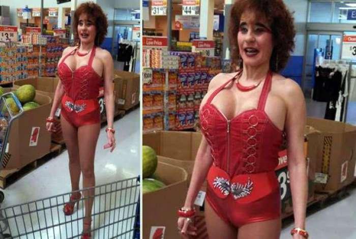 18 слишком эффектных посетителей американских супермаркетов, которые производят неизгладимое впечатление