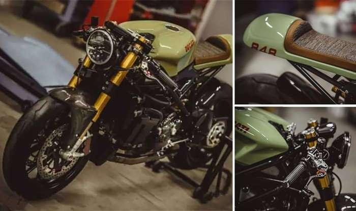 Стильный байк Ducati, в котором соединились лучшие современные технологии кастомайзинга