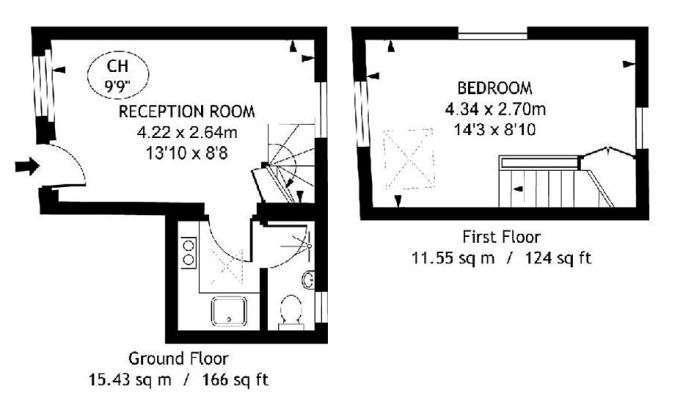 Один из самых маленьких домов Лондона продали за 700 000 фунтов стерлингов (7 фото)