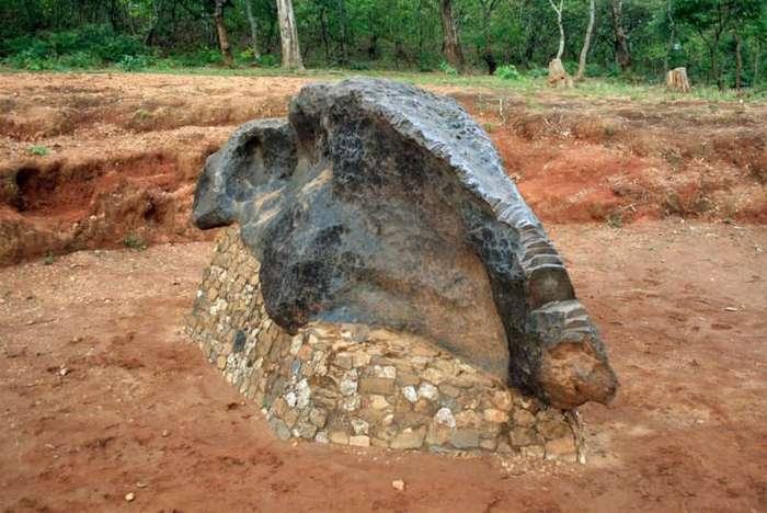 Самые крупные метеориты, когда-либо достигавшие поверхности Земли