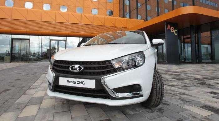 -АвтоВАЗ- выпустит тысячу битопливных Lada Vesta CNG в этом году