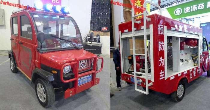 Пожарная машина из Китая