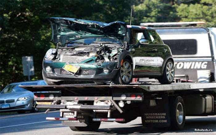 Иммигрантка разбила его машину: реакция ДиКаприо (3 фото)