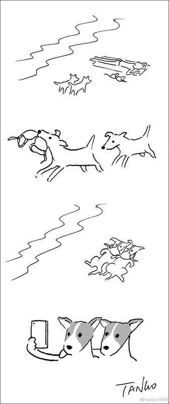 Прикольные рисунки иллюстратора Tango