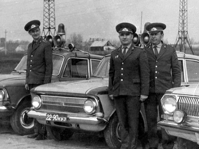 Госавтоинспекция Советского Союза на страже дорог