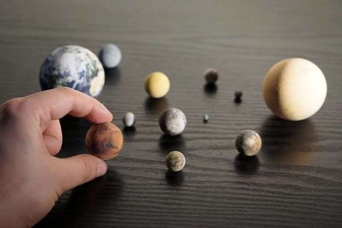 Солнечная система, которая легко уместится на вашем столе