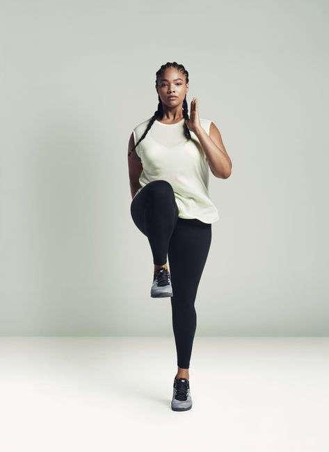 Компания Nike запустила линию спортивной одежды плюс-сайз