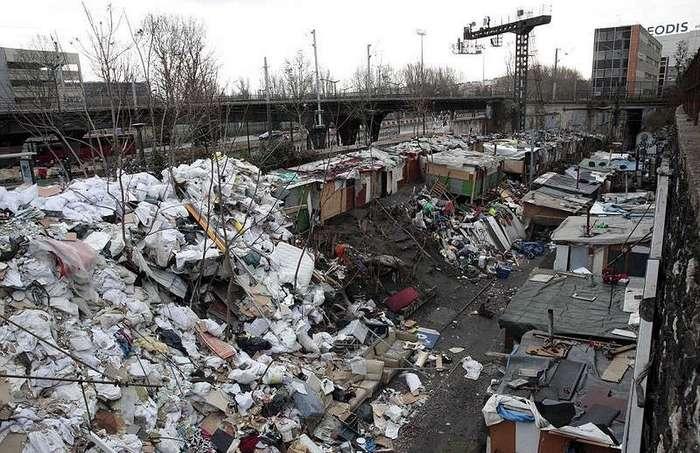 Снос трущоб в Париже