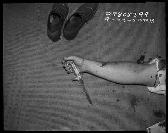 Жуткие кадры с мест преступлений