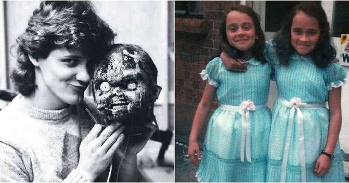 Неожиданные кадры со съемочных площадок фильмов ужасов