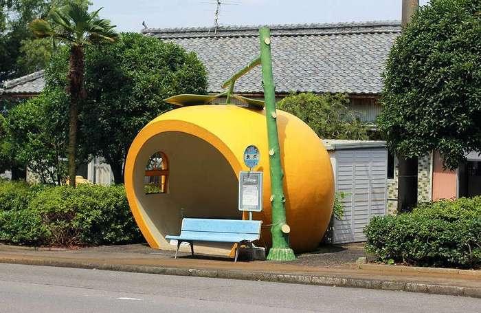 Самые необычные автобусные остановки мира
