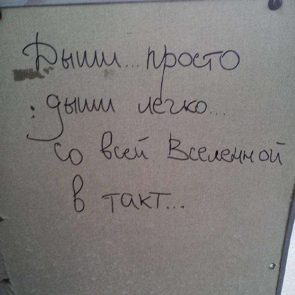 Забавные надписи в транспорте