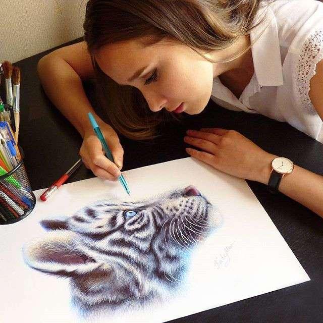 Потрясающие работы Художницы Kate Mur