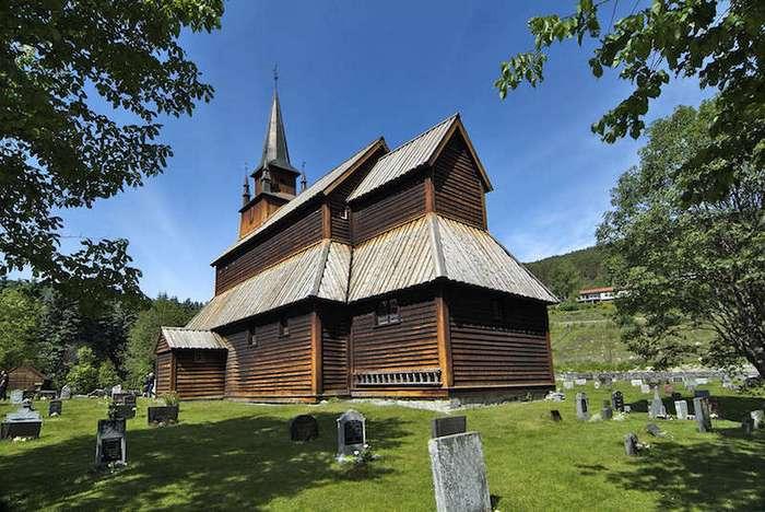 Красивейшие деревянные церкви Норвегии