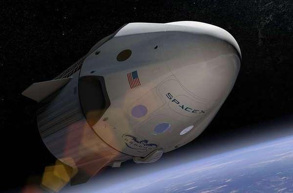 Компания SpaceX намерена отправить двух человек к Луне в следующем году