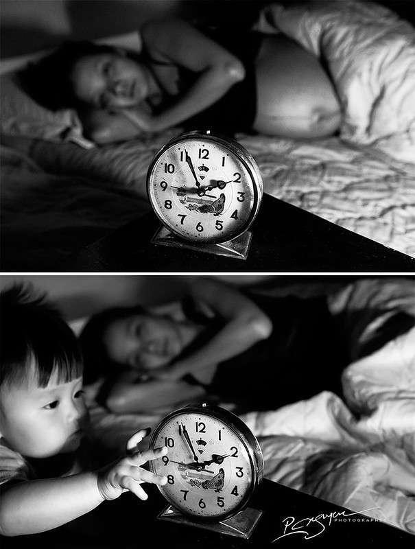 История в фотографиях: Как меняется жизнь женщины после рождения ребенка
