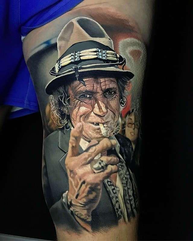 Когда у мастера руки из плеч: нереально крутые татуировки с почти живыми портретами